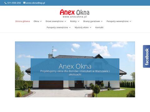 Anex okna Pruszków