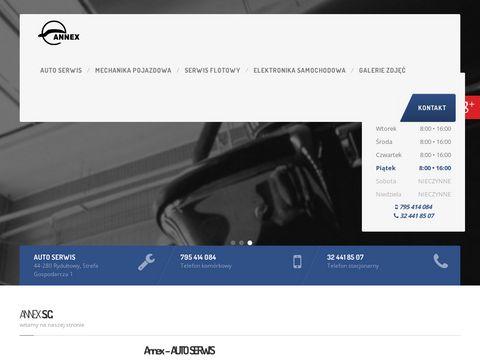 Annex sklep motoryzacyjny Rydułtowy