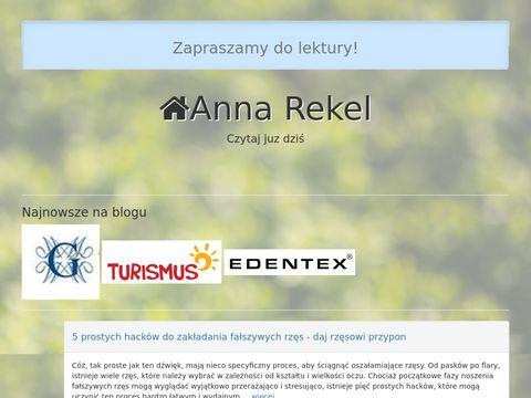 Annarekel.com.pl psycholog, psychoterapeuta