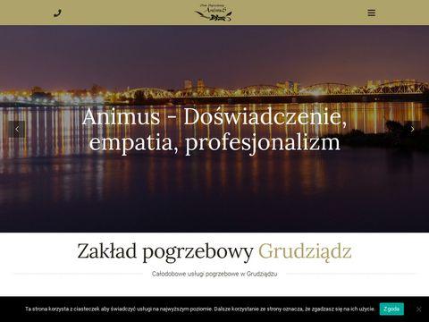Animus-grudziadz.pl zakład pogrzebowy