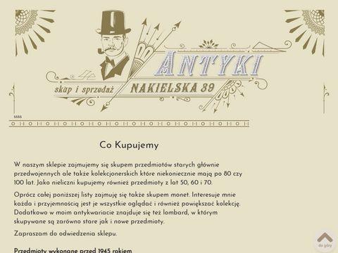 Antykibydgoszcz.com skup antyków w Bydgoszczy