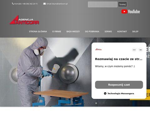 Anticorr.com.pl sprzęt do prac antykorozyjnych