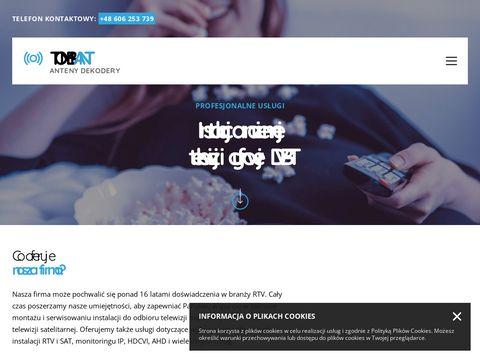 Anteny.bielsko.pl serwis i montaż instalacji RTV-SAT