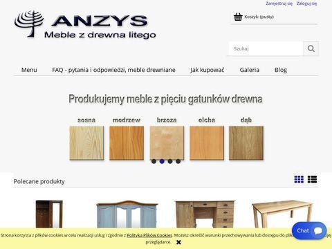 Anzys.pl meble drewniane