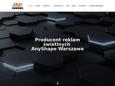 Anyshape.pl Warszawa kasetony