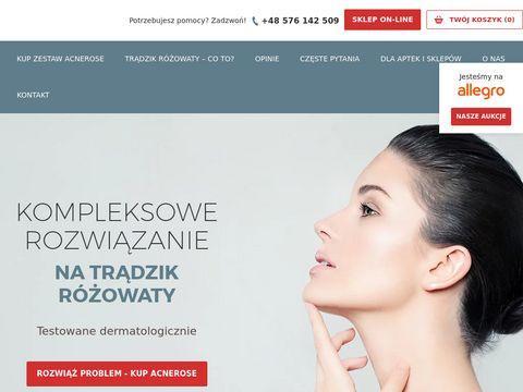 Acnerose.pl poznaj fazy trądziku różowatego