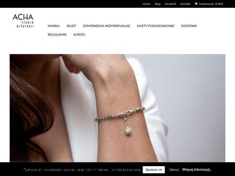Achastudio.pl - biżuteria damska