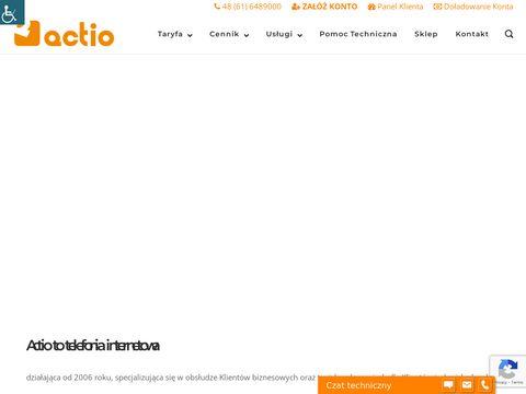 Actio.pl telefonia internetowa