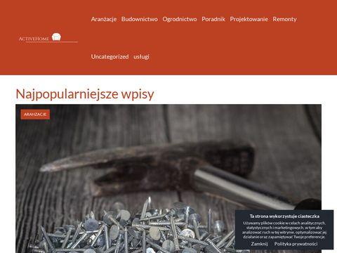 Activehome.pl - odnawialne źródła energii