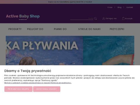 ActiveBabyShop.pl pływanie i rower z dziećmi