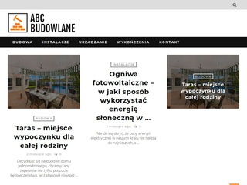 Abcbudowlane.pl praktyczne rady jak budować dom