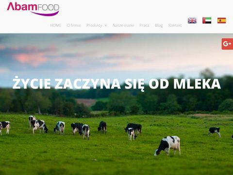 Abamfood.pl producent mleka w proszku