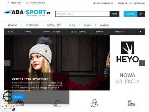 Aba-sport - sklep internetowy