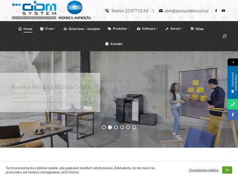ABM System Serwis drukarek warszawa
