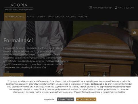 ADORIA Pogrzeb Wrocław