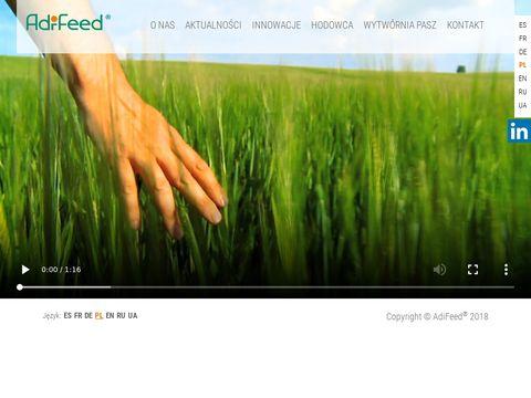 Adifeed.pl żywienie zwierząt