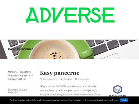 Spis stron www - adverse.pl