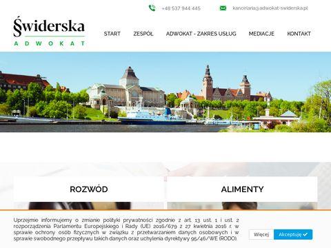 Edyta Świderska kancelaria adwokacka adwokat