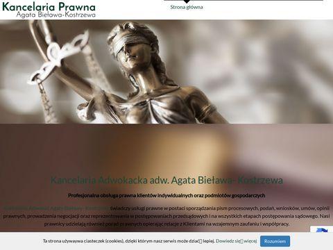 Adwokat-sulechow.pl Agata Bieława-Kostrzewa