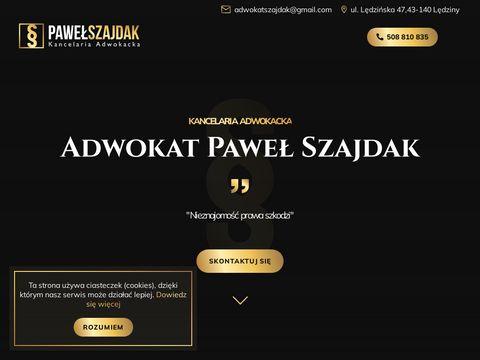 Adwokat-szajdak.pl Tychy Lędziny
