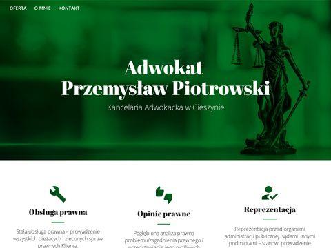 Adwokat-piotrowski.cieszyn.pl