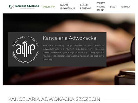 Adwokat-karkosza.pl prawnik Szczecin