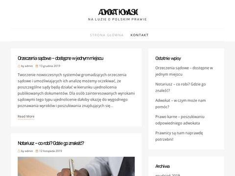 Adwokat-kowalski.com.pl prawo