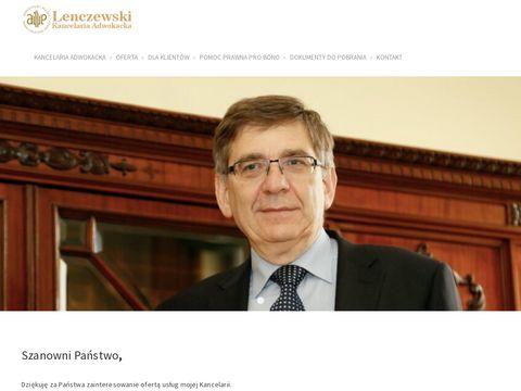 Adwokat-lenczewski.pl kancelaria
