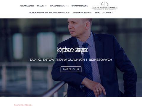 Adwokatdomek.pl Bydgoszcz
