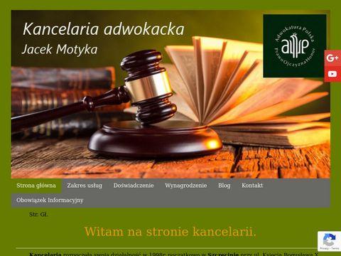 Adwokatmotyka.szczecin.pl