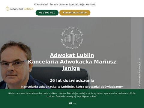 Adwokatjaniga.pl kancelaria Lublin