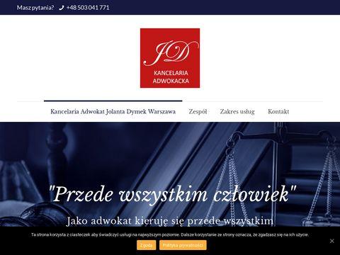 Adwokatjd.pl kancelaria adwokacka Warszawa