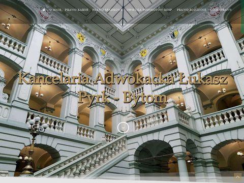 Adwokatpyrk.pl prawnik Bytom