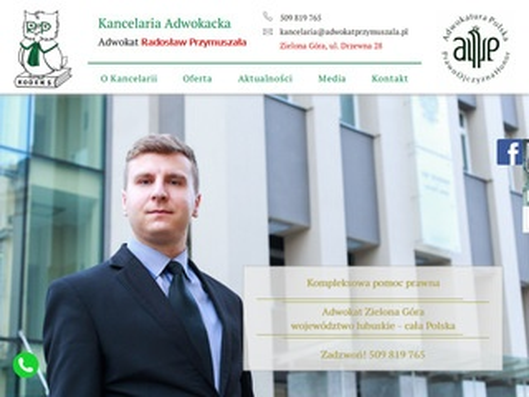 Adwokatprzymuszala.pl