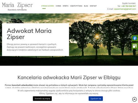 Adwokatzipser.pl Elbląg