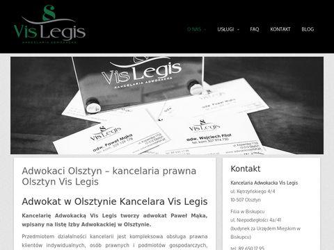 Vis Legis kancelaria adwokacka w Olsztynie