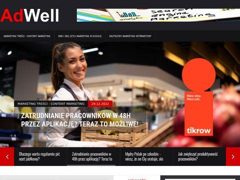 Adwell.pl portal marketingu i reklamy