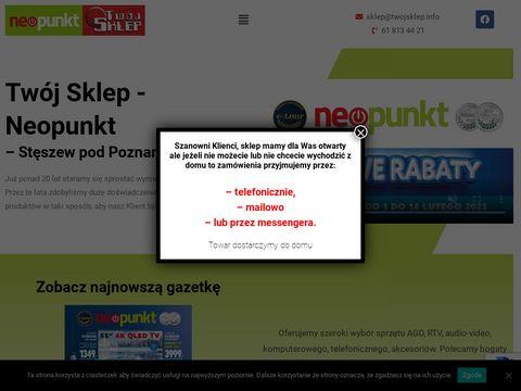 Agd-steszew.pl sprzęt RTV