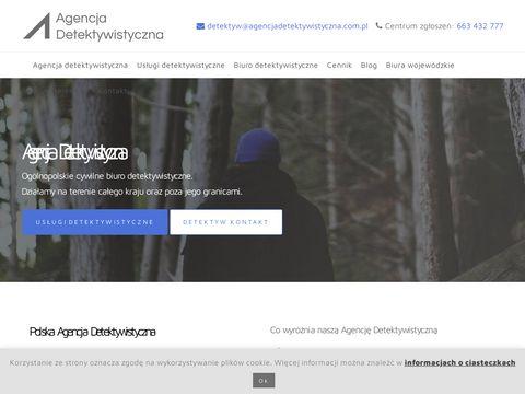 Agencjadetektywistyczna.com.pl biuro