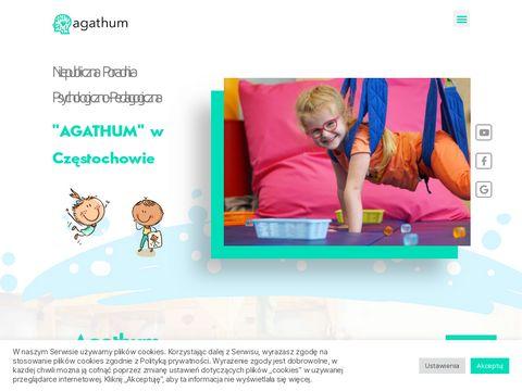 Agathum.pl terapia integracji sensorycznej