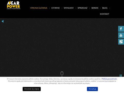 Agar wypożyczalnia agregatów prądotwórczych