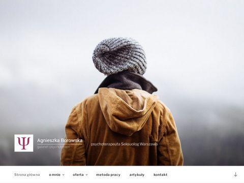 Agnieszka Borowska - psycholog Warszawa