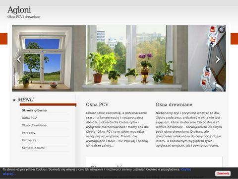 Agloni - okna drewniane i PCV