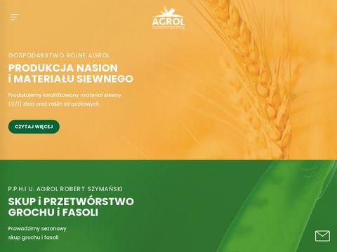 Agrol-szymanski.pl - produkcja nasion