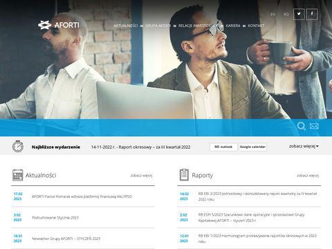 Afortiholding.pl zarządzanie finansami