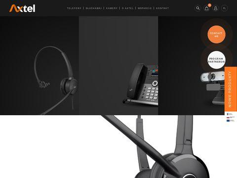 Axtel - słuchawki nagłowne do call center