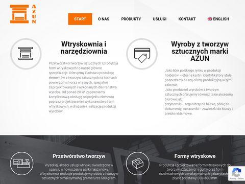 Azun.pl przetwórstwo tworzyw sztucznych