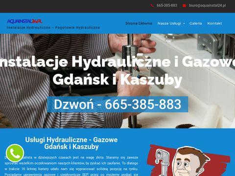 Aquainstal24.pl hydraulik Trójmiasto