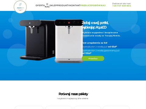 Aquago.com.pl woda do biura Warszawa