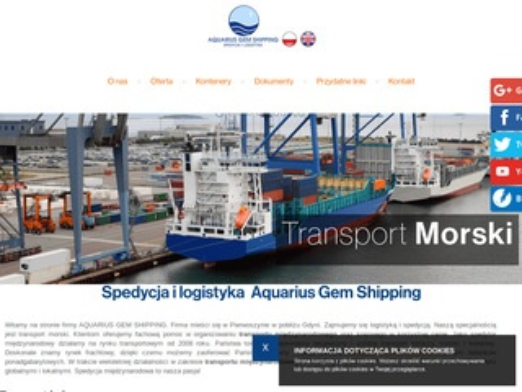Aquarius Gem Shipping spedycja przesyłek